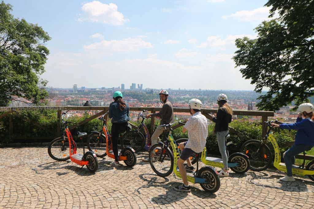 Park E-bike Prague Tour