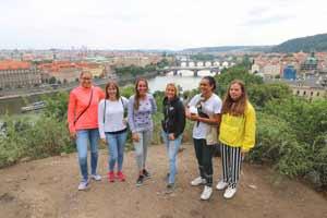 How many bridges in Prague ?