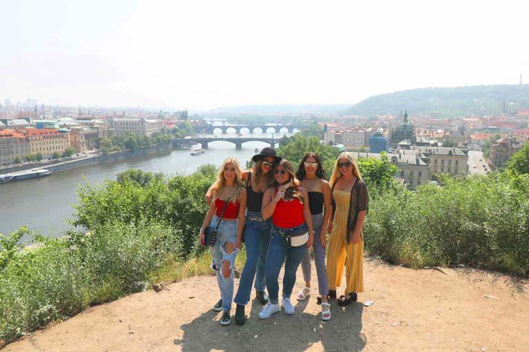 Prague Bridges View Point