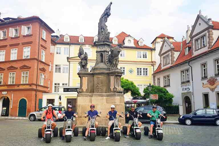 Trike Tour of Prague - Maltezske square
