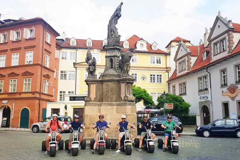 Trike Tour von Prag - Maltezske Platz